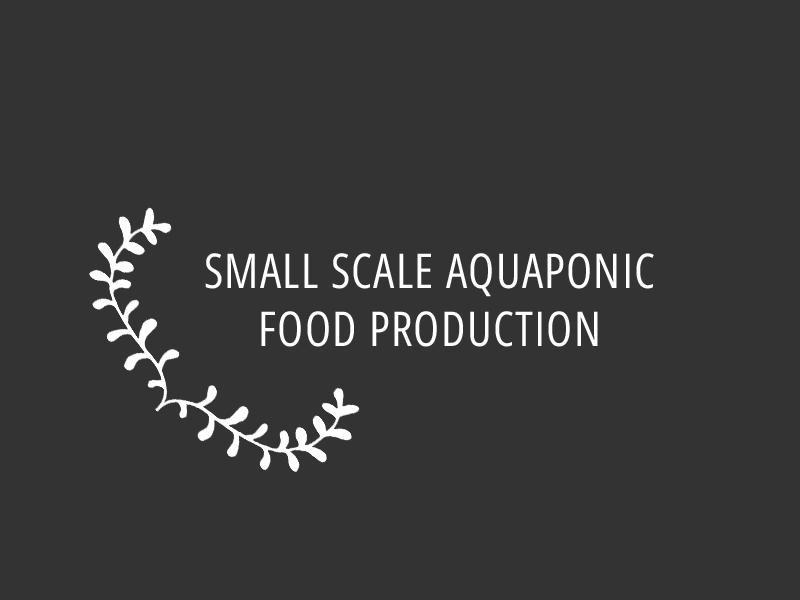 ספר הדרכה גידול מזון שיטת אקוופוניקה