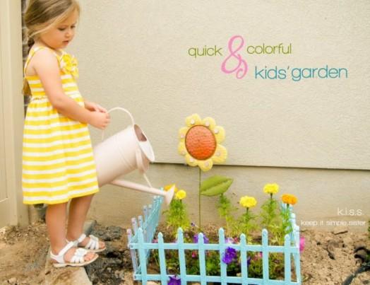 עשה זאת בעצמך בגינה עם ילדים