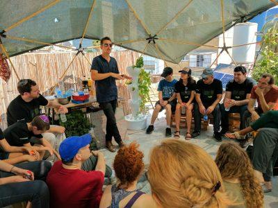 קורס חקלאות עירונית בתל אביב